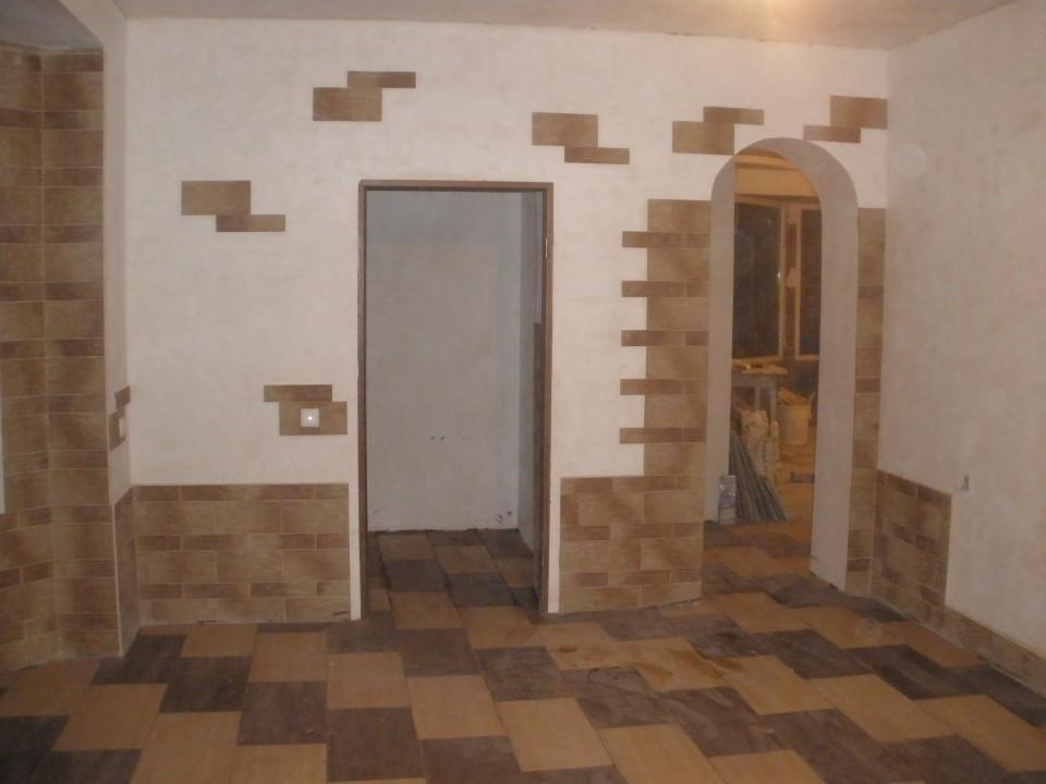 Отделка фасада дома короедом фото